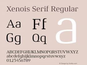 Xenois Serif