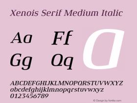 Xenois Serif Medium
