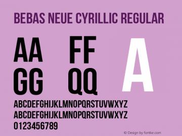 Bebas Neue Cyrillic