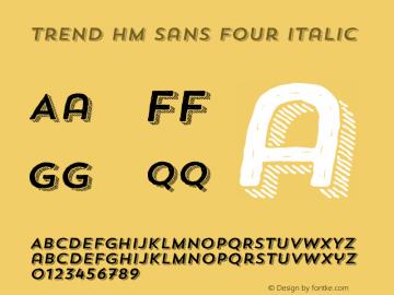Trend HM Sans Four