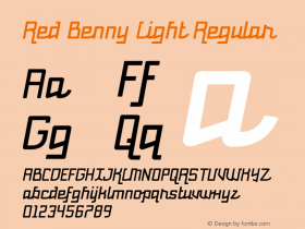 Red Benny Light