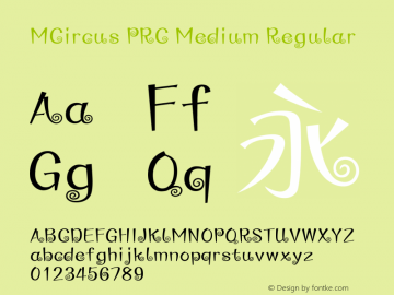 MCircus PRC Medium