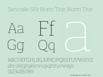 Sancoale SlSf Norm Thin