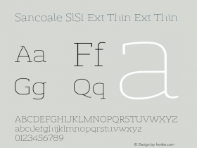 Sancoale SlSf Ext Thin