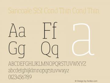 Sancoale SlSf Cond Thin
