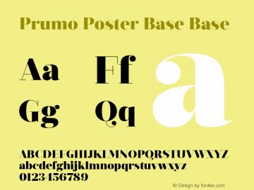Prumo Poster Base