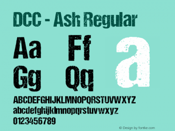 DCC - Ash