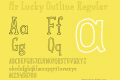 Mr Lucky Outline