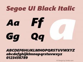 Segoe UI Black