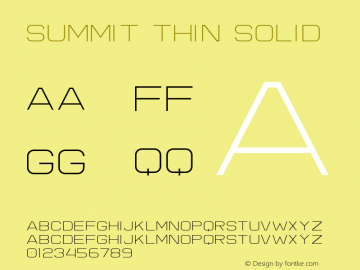 Summit Thin