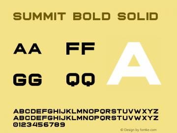 Summit Bold
