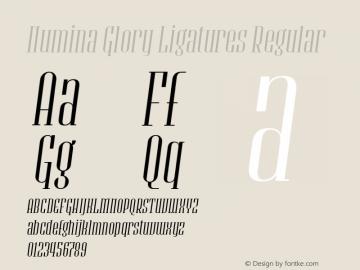 Numina Glory Ligatures
