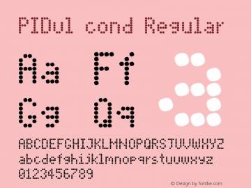 PIDvl cond