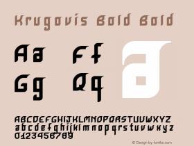 Krugovis-Bold