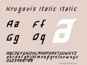 Krugovis-Italic
