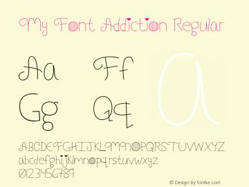 My Font Addiction