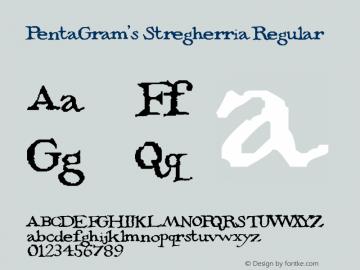 PentaGram's Stregherria