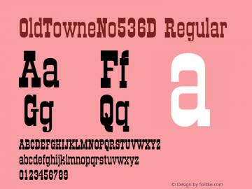 OldTowneNo536D