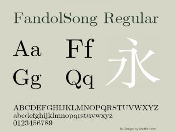 FandolSong