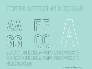 Festivo Letters No.8