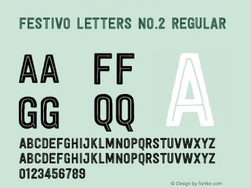 Festivo Letters No.2