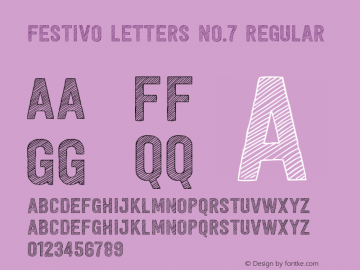 Festivo Letters No.7