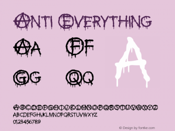 Anti Everything