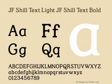 JF Shill Text Light