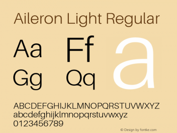 Aileron Light