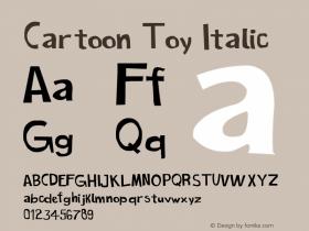 Cartoon Toy