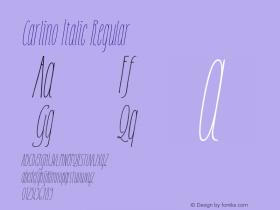 Carlino Italic