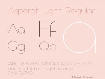 Aspergit Light