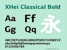 XHei Classical