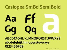 Casiopea SmBd