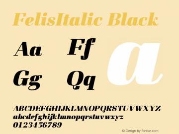 FelisItalic