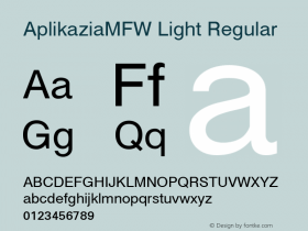 AplikaziaMFW Light