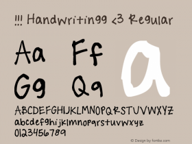 !!! Handwritingg <3