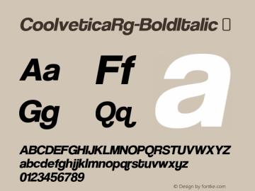 CoolveticaRg-BoldItalic