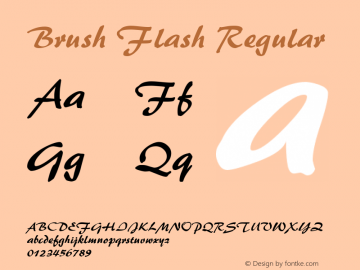 Brush Flash