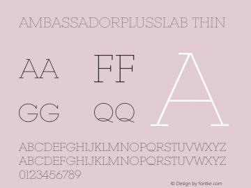 AmbassadorPlusSlab
