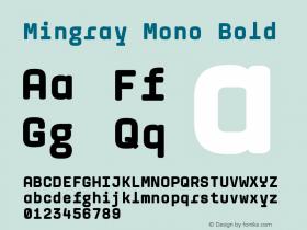 Mingray Mono