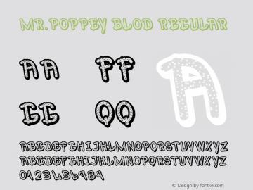 Mr.Poppey Blod