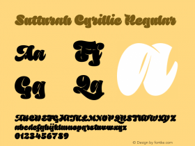 Sutturah Cyrillic
