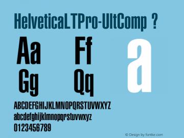 HelveticaLTPro-UltComp