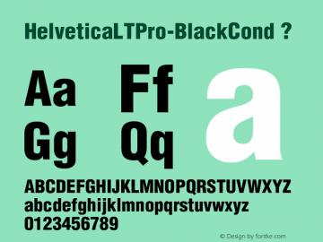 HelveticaLTPro-BlackCond