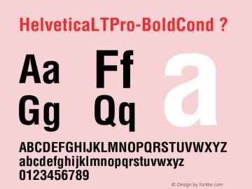 HelveticaLTPro-BoldCond