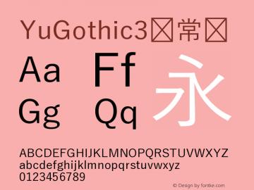 YuGothic3