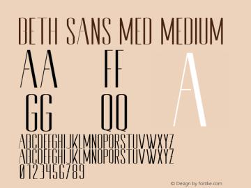 Beth Sans Med