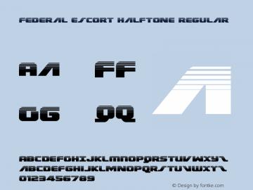 Federal Escort Halftone