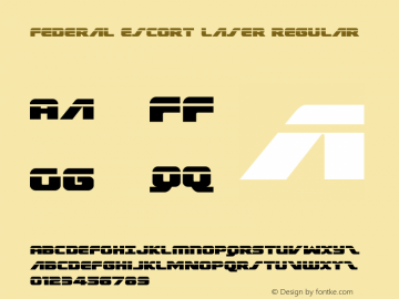 Federal Escort Laser